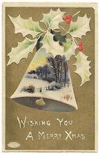 Wishing you a Merry Xmas, Rural Scene,1910 Ash Canterbury PMK