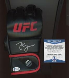 Jon Bones Jones Auto Autograph UFC/MMA Glove BGS/BAS Beckett witnessed