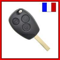 Coque Télécommande Plip Clé Pour Renault 3 Bouton Clio/Modus/Twingo/Kangoo+Lame
