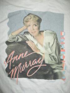 80s ANNE MURRAY Concert Tour (MED) T-Shirt