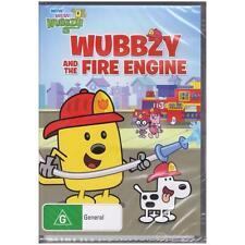 DVD WOW! WOW! WUBBZY! WUBBZY & THE FIRE ENGINE Animated TV 6-Episodes G R4 [BNS]
