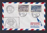 MiNr. 10 und 12 .. Franz. Geb. i. d. Antarktis .. Auf Briefbeleg