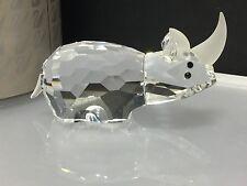 """Swarovski Figur """" Großes Nashorn """" 7,5 cm. mit Ovp & Zertifikat. Top Zustand !"""