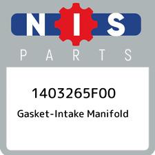 1403265F00 Nissan Gasket-intake manifold 1403265F00, New Genuine OEM Part