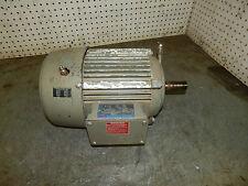 Browning 20T3P23DE12 Motor 2Hp 1145RPM 3Ph 184T frame 230/460volt 7.4/3.7amp
