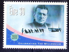 Ireland 2000 MNH, Millennium, Ernest Shackleton, polar explorer -