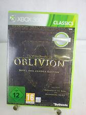 XBOX 360 Jeu Oblivion The Elder Scrolls IV jeu de l'année EDITION sp145