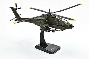 Sky Pilot Apache AH-64A Helicopter (1/55 Scale diecast model, Dark Green) 25523