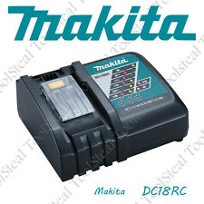 Makita DC18RC Rapid Fast Lithium-Ion Battery Charger NEW w/FACTORY WARRANTY!!!