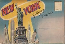 NEW YORK Gateway of America ~ LINEN Folder 18 Views