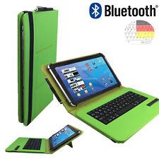 Bluetooth Qwertz Tablet Tasche - Lenovo TAB 2 A10 30L LTE Tastatur Grün 10.1