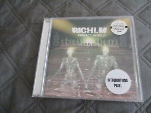 "CD ""RICHI-M - PERFECT WORLD"" 12 MORCEAUX / 1998"