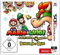 Mario & Luigi: Abenteuer Bowser + Bowser Jr.s Reise /3DS 2DS XL