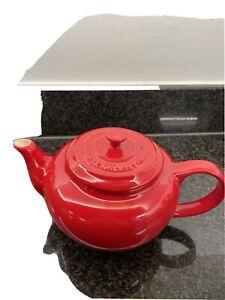 Red Le Creuset Teapot