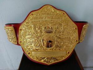 Fandu Antique Gold Textured Adult Championship Title Belt
