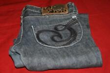 House of Dereon Custom Couture Kick Clothing Womens Denim Jeans Sz 27 x 32