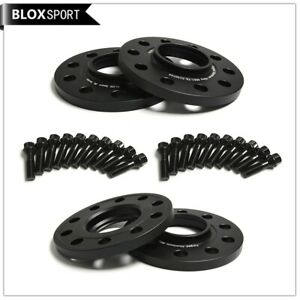 10mm+12mm 5x120 Hubcentric Wheel Spacer For BMW F30 F34 F80 F82 F10 F12/ 14x1.25