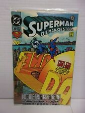 Superman The Man of Steel #30 (1994 DC Comic Book) FACTORY SEALED / Vinyl Clings