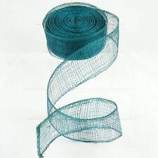 "2 pack - Green Deco Poly Mesh Ribbon - 10 Yards - 1.5"" - Floral & More! MeraVic"
