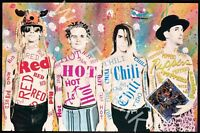 Red Hot Chili Peppers - Freaky Styley - 1985 Vintage Concert Poster