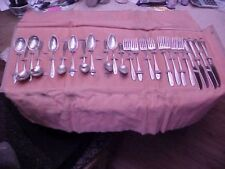 Margaret Rose by National Sterling Silver Flatware Set 22 Pieces