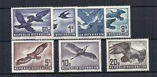 Austria 1950-53 Air set MLH/MH