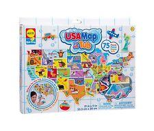 ALEX Toys Rub a Dub USA Map in the Tub Free Shipping