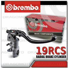 Brembo 19 RCS Brake Master Cylinder 110.A263.10 110A26310 18-20 light switch