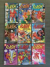 THE FLASH #271-339 42 ISSUE DC COMICS LOT RUN MID GRADE ZOOM REVERSE FLASH IRIS