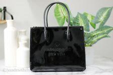 Kate Spade Trista Patent Leather Black Shopper Tote Crossbody Handbag Purse