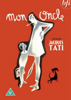 MON ONCLE DVD Jacques Tati Jean Pierre Zola Adrienne Servantie UK New Sealed R2