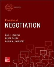Essentials of Negotiation 6th Edition by David M. Saunders - Paperback 2015