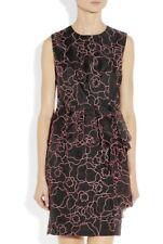 DIANE VON FURSTENBERG £ 510 Leni Seda Organza Bordado Vestido Net-a-porter EE. UU. 6