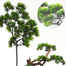 Artificial Lifelike Pinaster Pine Branch Cypress Bouquet Flower Home Xmas lz