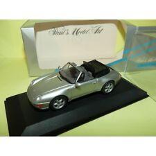 Porsche 911 Cabriolet 993 Gris Minichamps 1 43