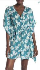 UGG 'Bryer' Floral Kimono Robe Size XS