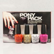 OPI Ford Mustang Collection Mini 4pc - PONY PACK 4pk Kit Set DCF02 >> Ship 24H