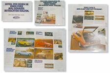 Prospekt Ford Consul Granada 1 I Taunus Capri II 1974 1975