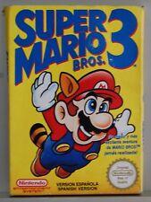 SUPER MARIO BROS 3 - NINTENDO NES - VERSION ESPAÑA