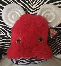 Lady Gaga's Workshop Barneys New York Plush Monster Stuffed Toy LG Red Wig RARE!