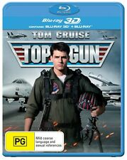 Top Gun 3D Edition with 2D Edition Blu-ray Region B NEW