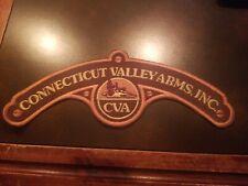 "Vintage 1970s Connecticut Valley Arms CVA 10"" BACK PATCH"