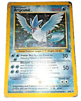 Pokemon Card - Articuno - (2/62) Fossil Set Rare Holo ***PL*** PLAYED