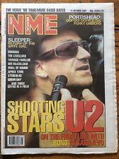 NME 11/10/97 U2 cover, Portishead, Sleeper, The Levellers, Aphex Twin