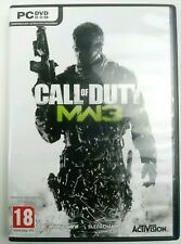 Call of Duty: Modern Warfare 3 Rare 2 Disc (PC DVD ROM, 2011) Free Shipping