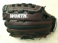 """New listing 13"""" Worth Shut Out Softball Series: SO130 Fastpitch, RHT RIGHT HAND THROWER"""