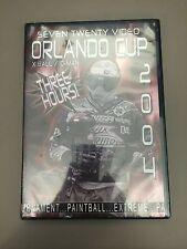 Seven Twenty Video 2004 World Cup paintball dvd NEW