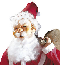 Weihnachtsmann Maske Mütze Bart Nikolaus Santa Claus Weihnachten Verkleidung