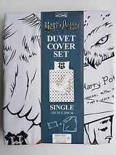 Harry Potter Duvet Cover Set Single Primark Bed Linens Bedding Hedwig Owl NEW