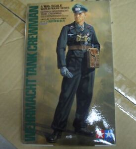 Wehrmacht Tank Crewman Tamiya 1:16 plastic model kit 36301